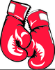 Boxer And Boxing Gloves Clipart Image