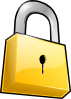 Closed Lock Clip Art