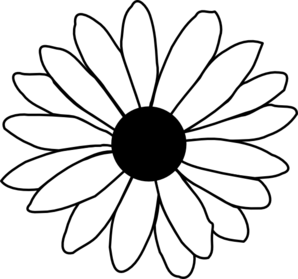 daisy modification clip art at clker com vector clip art online rh clker com yellow daisies clipart daisies clipart black and white