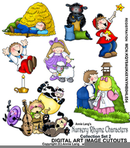 Free Nursery Rhyme Clipart Image