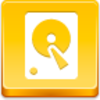 Free Yellow Button Hard Disk Image