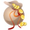 Money Bag Icon Image