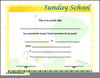 Sunday School Promotion Clipart Image