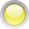 Led Circle (yellow) Clip Art