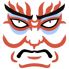 Japanese Theatrics Clip Art