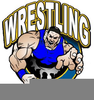 Clipart Free Wrestling Image