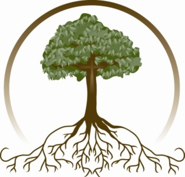 clipart family tree with roots - photo #9