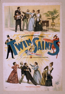 Twin Saints The New Comedy In 3 Acts : By Frank J. Hallo & Marie Madison. Image
