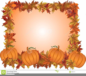 Free Clipart Fall Leaves Pumpkins   Free Images at Clker ...