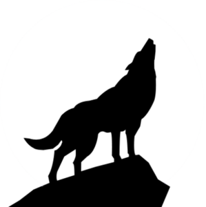 howling wolf silhouette psd free images at clker com vector clip rh clker com clip art wolf pictures clip art wolf pictures