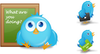 Birdies A Free Twitter Icon Set.png Image