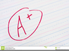 Free Grades Clipart Image