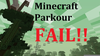 Parkour Fails Minecraft Image