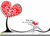 Free Valentines Day Hearts Clipart Image