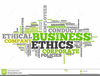 Business Ethics Clipart Image