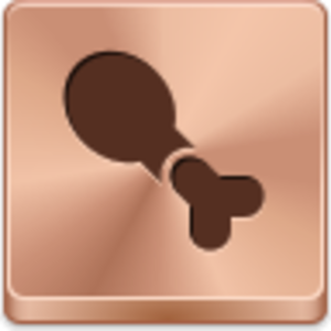 Chicken Leg Icon Image
