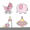Baby Shoes Clipart Image