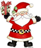 Clipart Christmas Cottage Image