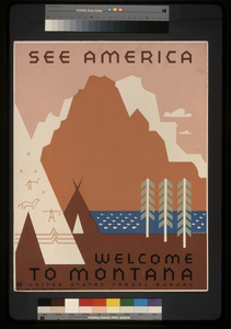 See America Welcome To Montana / Rothstein. Image