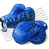 Boxing Gloves Blue 2 Image