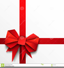 Free Gift Bow Clipart Image