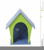 In The Dog House Clipart Image