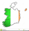 Ireland Map Clipart Image