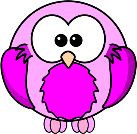 Lilac Pink Bird Cartoon Robin | Free Images at Clker.com - vector clip ...