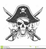 Pirate Skull Clipart Image