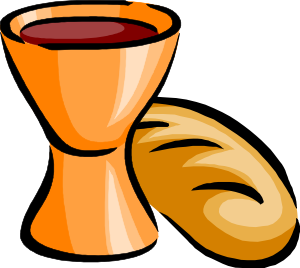 bread and wine clip art