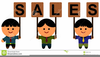 Free Sales Team Clipart Image