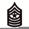 Army Sergeant Clipart Image