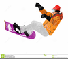Freestyle Skiing Clipart Image