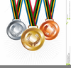 Clipart Of Olympic Medals Image