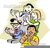 Audience Clapping Clipart Image