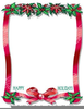 Christmas Clipart And Borders Free Image