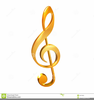 Clipart Music Notes Treble Clef Image