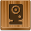 Free Wood Button Webcam Image