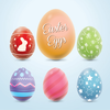 Colorful Easter Eggs Image