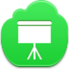Free Green Cloud Easel Image
