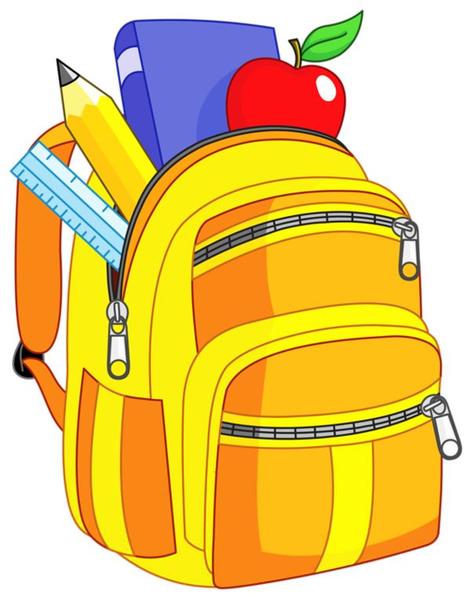 clipart of bookbag free images at clker com vector clip art rh clker com