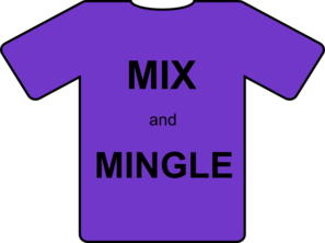 Mix And Mingle Clip Art