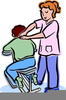 Shoulder Massage Clipart Image