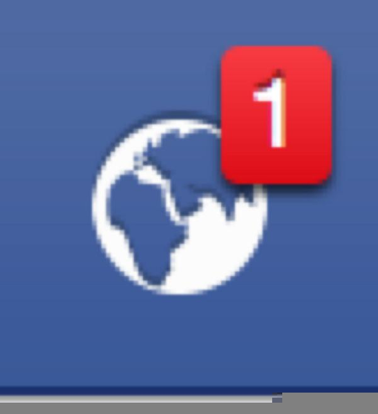 Facebook Notifications Icon | Free Images at Clker.com ...