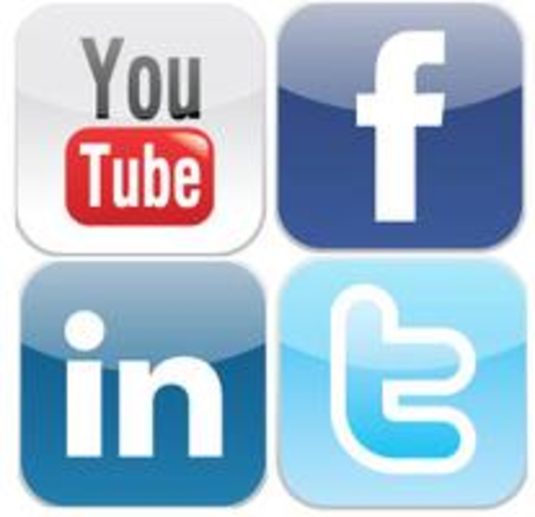 facebook twitter linked youtube free images at clkercom