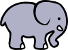 Cartoon Elephant 2 Clip Art