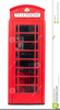 Clipart Red Telephone Box Image