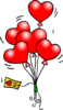 Heart Balloons T Image