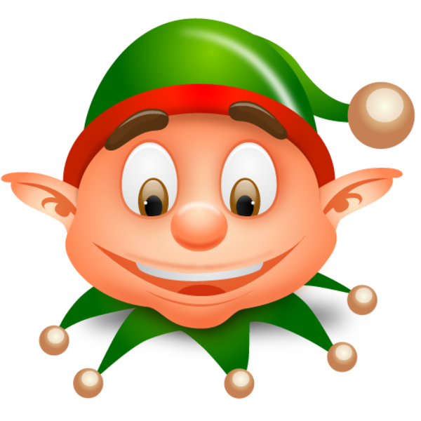 christmas elf clipart free - photo #48