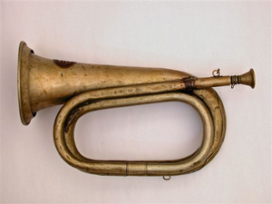Civil War Bugle Image